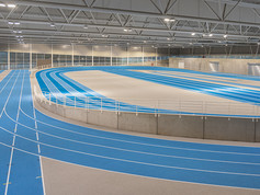 Regupol® at a Track and Field Hall, Louvain-la-Neuve, Belgium