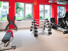 everroll® gym flooring in the Clever Fit in Munich