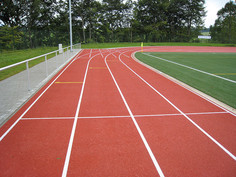 Regupol® tartan synthetic running track in Rennerod