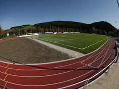 Regupol® PD IS synthetic running track in Aue-Wingeshausen