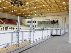 Icehockey Hall in Kitzbühel with everroll®, the robust flooring.