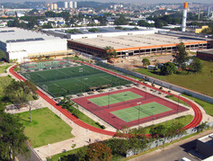 Regupol® synthetic running track in Brazil