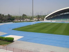 Regupol® tartan synthetic running track in Dubai
