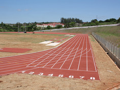 Regupol® synthetic running track