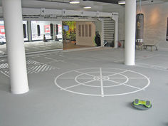 everroll® gym flooring in a fitness centre in Munich