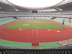 Regupol® AG tartan track at the Nanchang International Sports Centre Stadium, China.