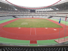Regupol® AG Tartanbahn im Internationales Sportstadion Nanchang, China.