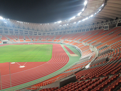 Regupol® AG im Panjin Stadion in China