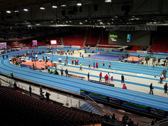 The Gothenburg European Athletics Indoor Championships 2013 were held on a Regupol® tartan track.