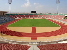 Regupol® AG tartan track at the Sultan Qaboos Sports Complex in Bousher, Oman.
