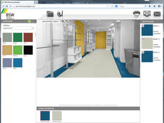 BSW flooring designer - Colour scheme