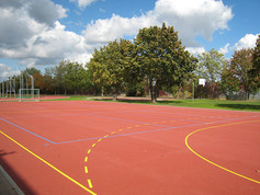 Sports Surfacing in Hassloch, Germany.