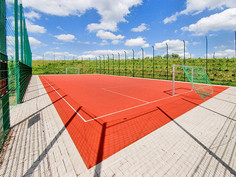 Game Court Surface in Kreutztal-Krombach, Germany.