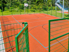 Game Court in Paderborn, Germany.