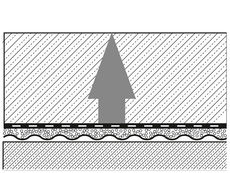 Graphic Deflection Regupol Under-Screed Impact Sound Insulation