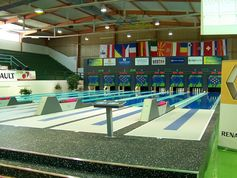 Bowling lane in Croatia with everroll® floor