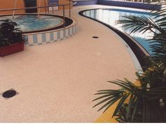 everroll®, the slip resistant floor covering in a swimming pool in Australia