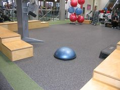 everroll® Fitnessboden in einem Fitnesscenter in Australien