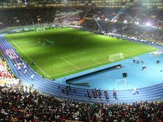 4,400 m² of Regupol® have been installed at the National Stadium in Lima, Peru.