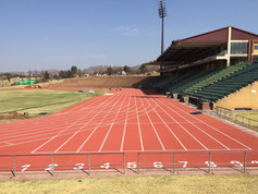 Regupol® AG synthetic running track at Ruimsig Stadium, Roodepoort, South Africa