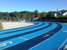 Regupol® synthetic running track in Canada