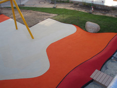 Colourful playfix® safety flooring