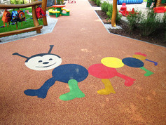 Kindergarten safety flooring