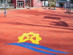 Safety flooring playfix® in Marburg