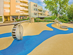 playfix® safety flooring, Water adventure