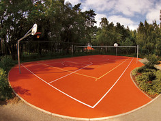 Regupol kombi as sports surface in Jerichow, Germany.