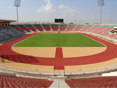 Tartanbahn vom Typ Regupol® AG im Sultan Qaboos Sports Complex in Bausher, Oman.