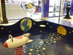 playfix® indoor: A space-themed playground for children
