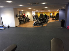 everroll® gym flooring in the Leominster Leisure Center, UK
