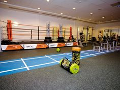 Fitness Center in England equipped with everroll® as elastic floor covering
