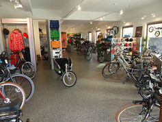 everroll® in a bike store in Belgium