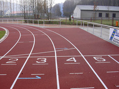Athletic track, Schwarzenberg.
