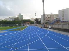 Regupol® synthetic running track in Fundepar, Brazil.
