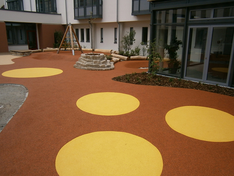 Design english for Outdoor safety flooring