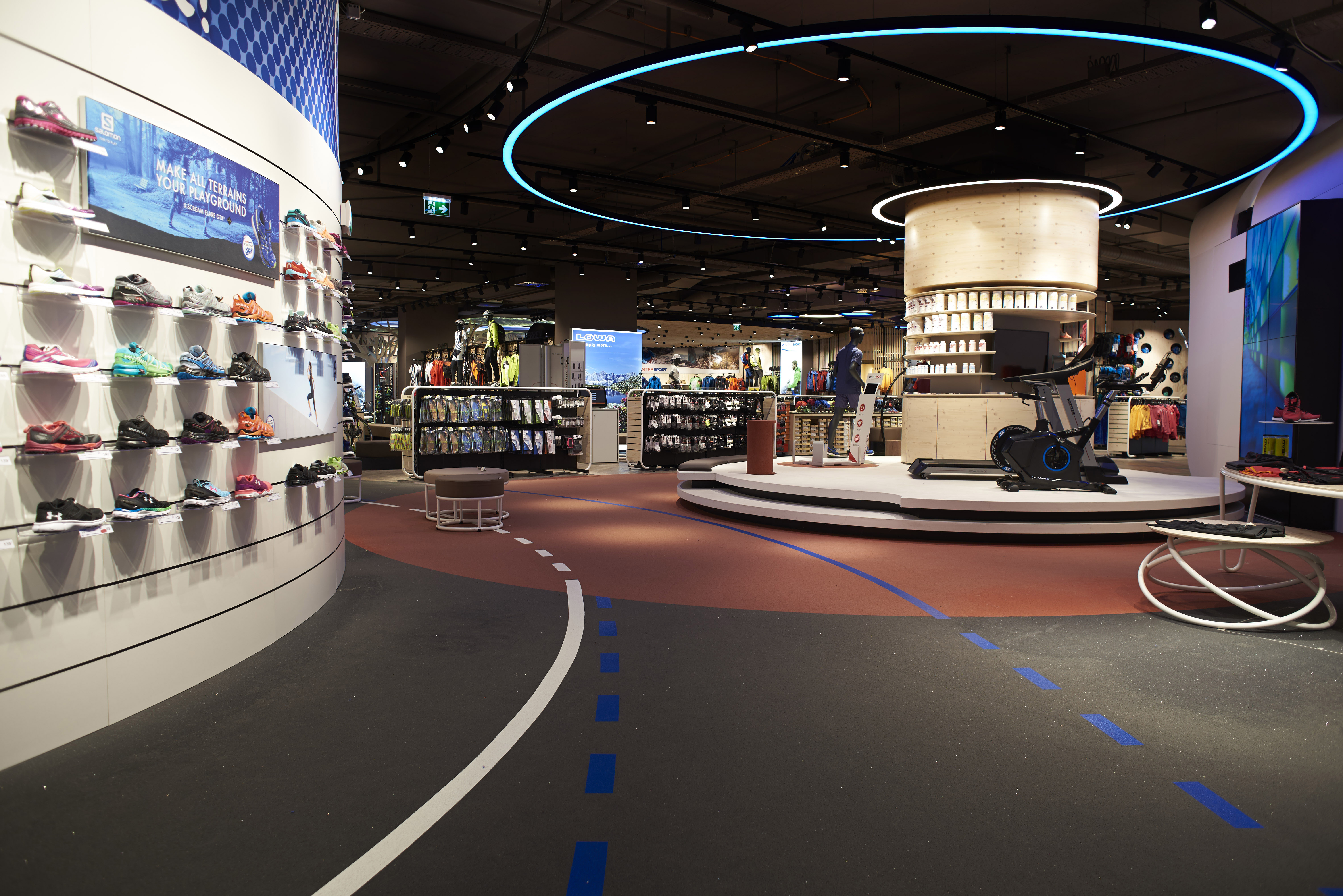 Intersport opens flagship store with everroll flooring u english