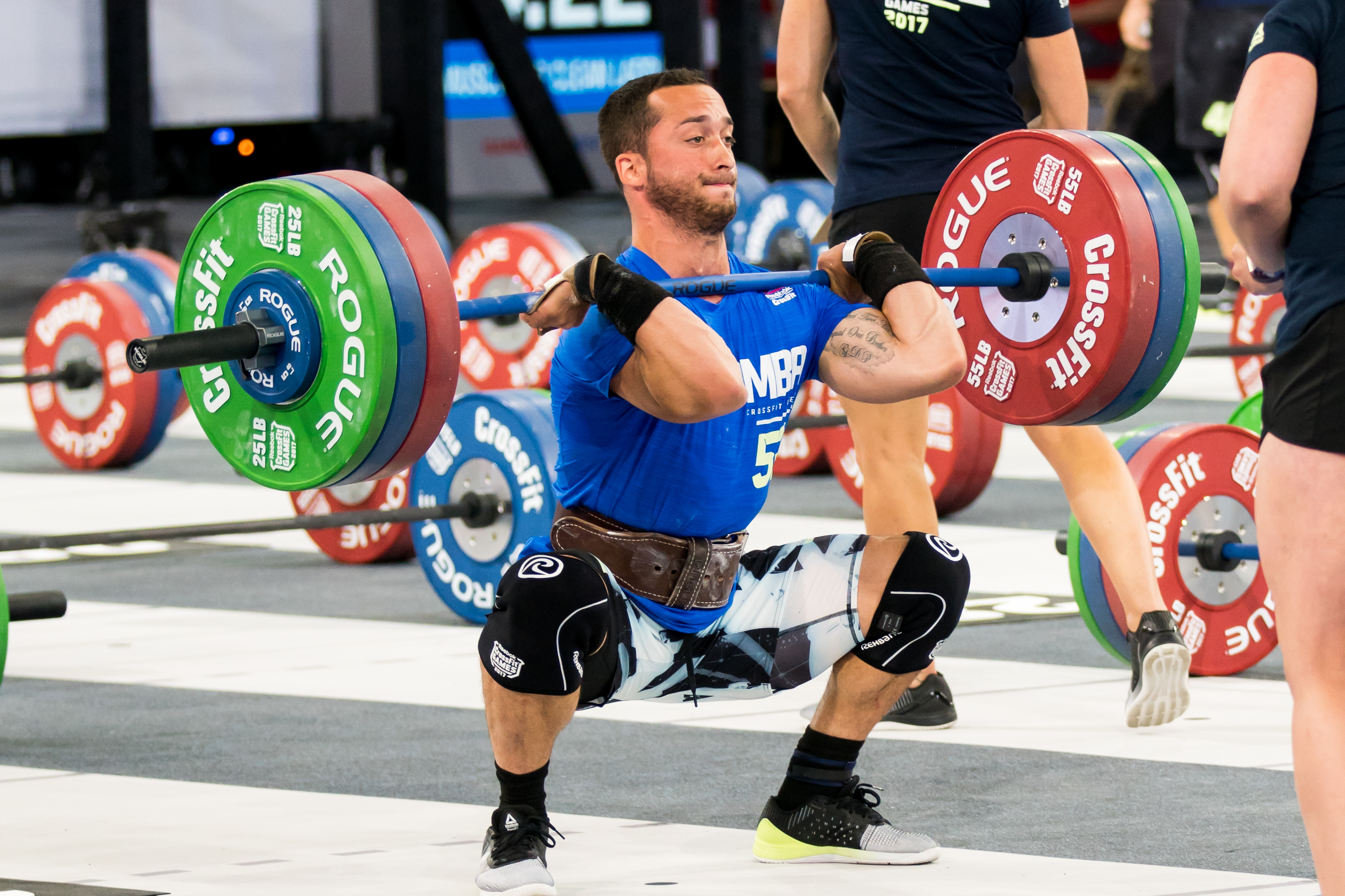 "everroll is the ""Official Flooring of the CrossFit Games"