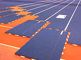 Regupol® sPORTrack for indoor athletics